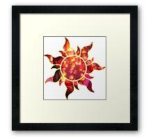 corona crest Framed Print