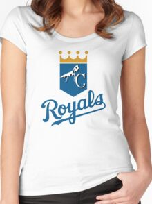 Mantis Royals Women's Fitted Scoop T-Shirt