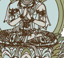 Spiritual Buddha Drawing  Sticker