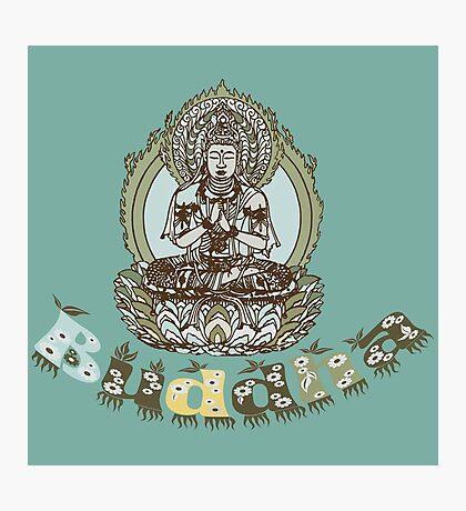 Spiritual Buddha Drawing  Photographic Print