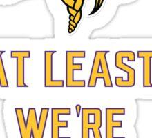 At least (Vikings) Sticker