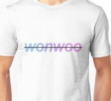 "Gradient Crossed-Out ""Wonwoo""  Unisex T-Shirt"
