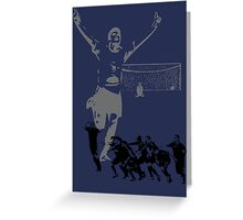 A Victory in Penalties Greeting Card