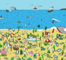 RipnDip Beach Phone Case And Stickers Sticker