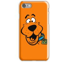 SCOOBY DOO FACE iPhone Case/Skin