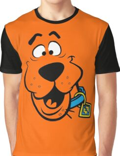 SCOOBY DOO FACE Graphic T-Shirt