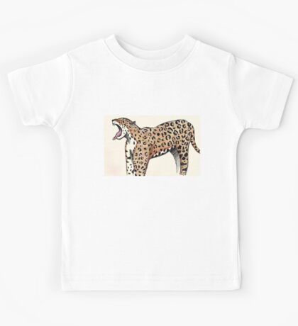 Jaguar Sketch Kids Tee