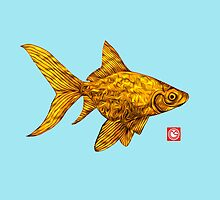 Goldfish by mongogushi