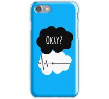 Okay? Not okay -  Tfios Flatline iPhone Case/Skin