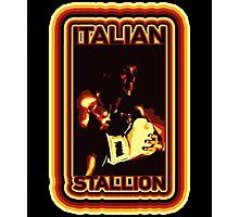 ITALIAN STALLION 2 Photographic Print
