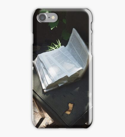Law of Nature iPhone Case/Skin