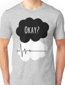 Okay? Not okay -  Tfios Flatline Unisex T-Shirt