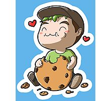 Jack got a Cookie (Draw it Again!) Photographic Print