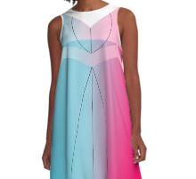 The Dress Is Blue A-Line Dress
