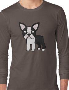 cute boston terrier Long Sleeve T-Shirt