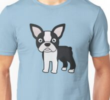 cute boston terrier Unisex T-Shirt