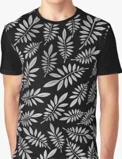 Silver leaf pattern 1 Graphic T-Shirt