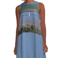 **Yacht in Tasmania** A-Line Dress