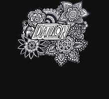 Dalton zentangle flowers Unisex T-Shirt