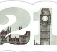 221 B Sticker