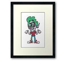 Skwiggles Framed Print