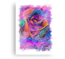 Love Is A Rose Canvas Print