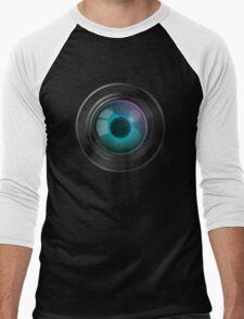 Lens with an eye Men's Baseball ¾ T-Shirt
