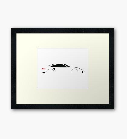 2016 Turbo Sports Car Framed Print