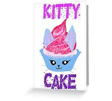 Kitty Cupcake Greeting Card