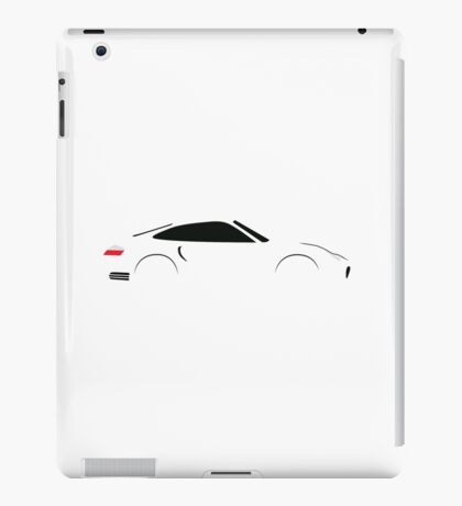 2000 Turbo Sports Car iPad Case/Skin