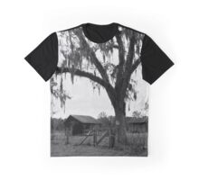 Abandoned Structures under a Moss Canopy Graphic T-Shirt