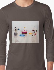 Blowing off some Steam Long Sleeve T-Shirt