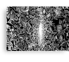 Robot War Canvas Print