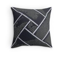 Caged Darkness Throw Pillow