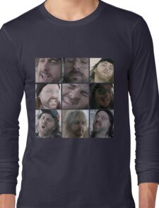 One Hand Killing Screenshots Long Sleeve T-Shirt