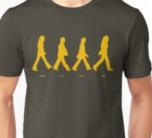 Abbey Road - Yellow Unisex T-Shirt
