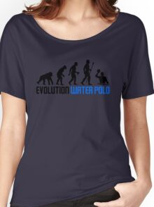 Water Polo Evolution Of Man Women's Relaxed Fit T-Shirt