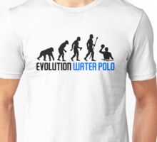 Water Polo Evolution Of Man Unisex T-Shirt