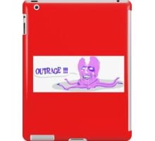 The Mighty Boosh - This is an outrage! - Tony Harrison iPad Case/Skin