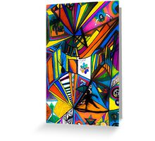 Higher Dimensions Greeting Card