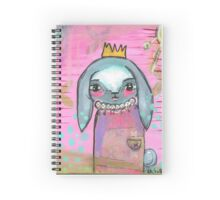 Princess Bunny Spiral Notebook