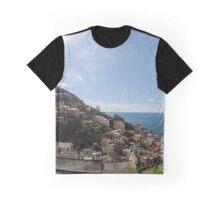 Cinque Terre panorama Graphic T-Shirt