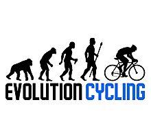Evolution Cycling Photographic Print