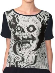 Grimes Cover Chiffon Top