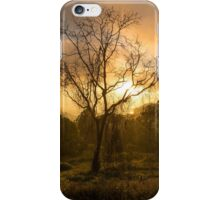 Sunrise Through The Mist iPhone Case/Skin