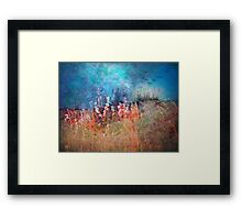 Whispers of Summer Past Framed Print