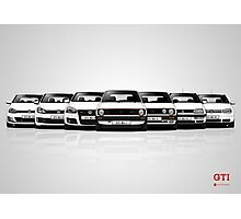 History - Volkswagen Golf GTI Photographic Print