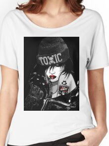 Toxic Girl Women's Relaxed Fit T-Shirt
