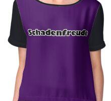Schadenfreude Women's Chiffon Top