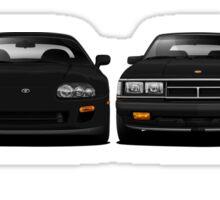 History - Toyota Supra Sticker